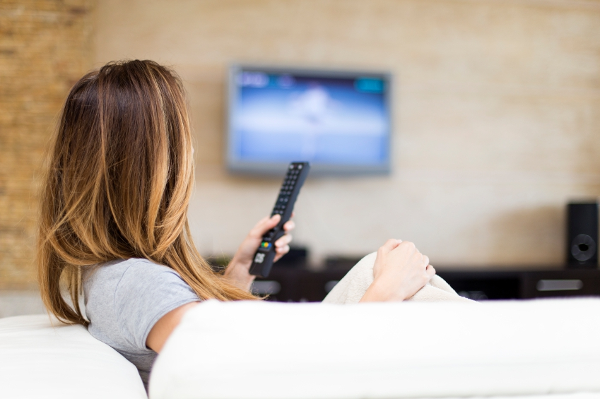 Watching Television or DVD