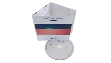 1 x CD in a 6/0 CD digipak (water based gloss or matt) with shrinkwrap.