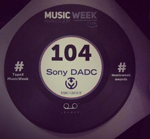 Music Week Awards – VDC & Sony DADC